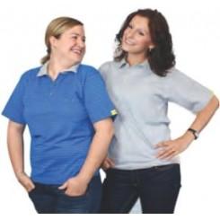 ESD galléros póló (kék)