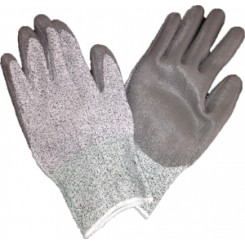 ESD palm coated cut resistant glove