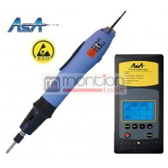 ASA BS-6000 ESD electric screwdriver with AM-30 controller
